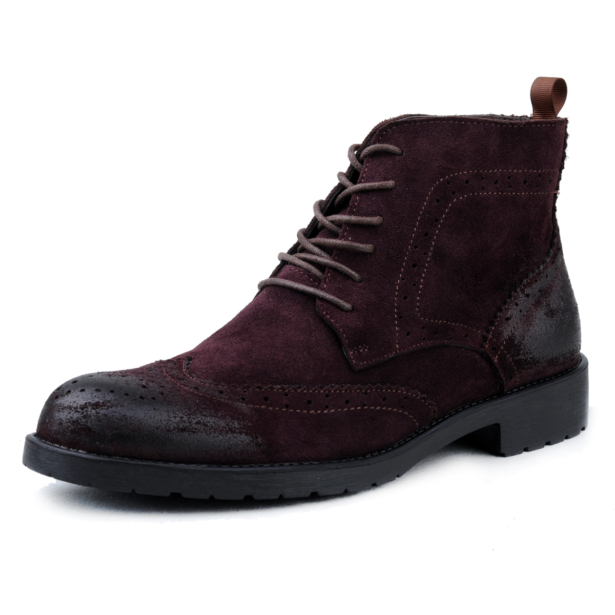 2016 freeshipping men ankle botas rain font b boots b font leather font b boots b