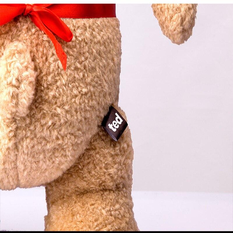 Ted2 tecknad film teddybjörn TED plysch leksaker mjuk fylld djur - Dockor och tillbehör - Foto 6