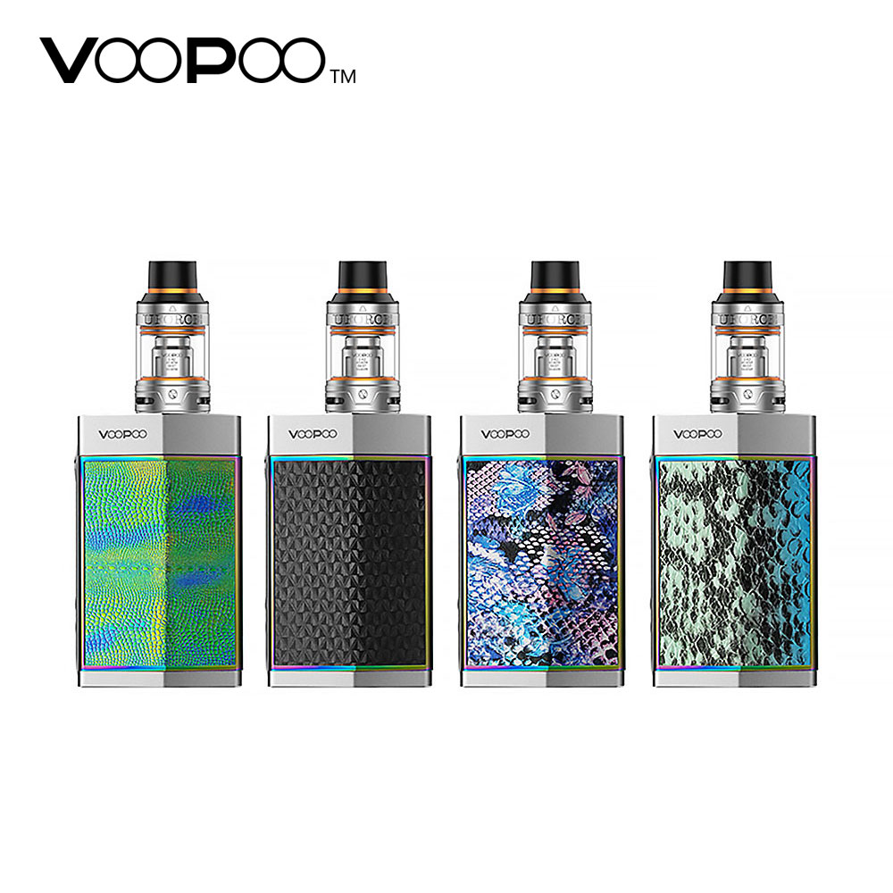 Original VOOPOO TOO Kit with 180W TOO Box Mod & 3.5ml UFORCE Atomizer 0.4ohm OCC Head No Battery Great Flavor Vaping Kit entwisle too great expectations