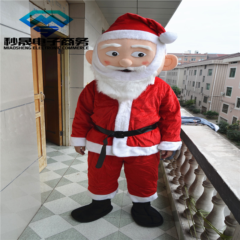 Costume de mascotte costume de père noël costume de mascotte