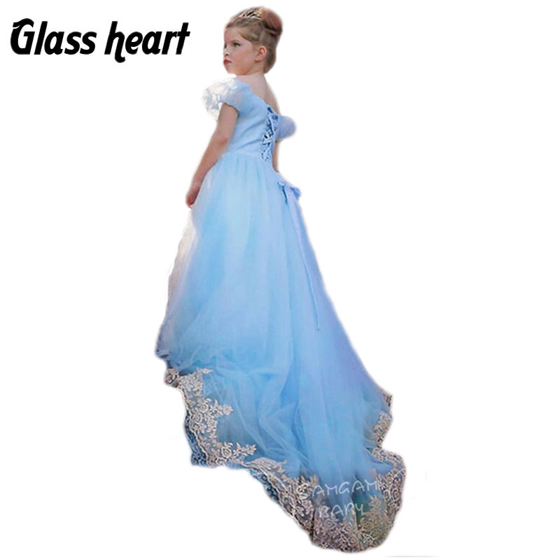 Evening Dresses Kids Girls Party And Wedding Cocuk Abiye Robe Fille Enfant Mariage Soiree Vestidos Mujer Clothes Menina Roupa