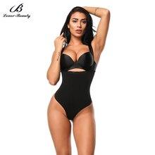 Lover-Beauty Latex Waist Trainer Body Shaper Women Flat Tummy Shaper Sexy Bodysuit Corset Slimming Elastic Belt Fitness – I