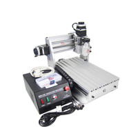 230W spindle cnc laser machine 3020T wood router with cutter collet clamp vise drilling kits
