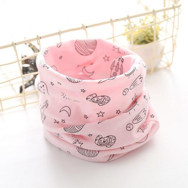 Корейский хлопковый детский шарф, снуд с рисунком, клетчатые шарфы с кольцами для девочек, зимний теплый снуд для мальчиков, детский снуд - Цвет: 8