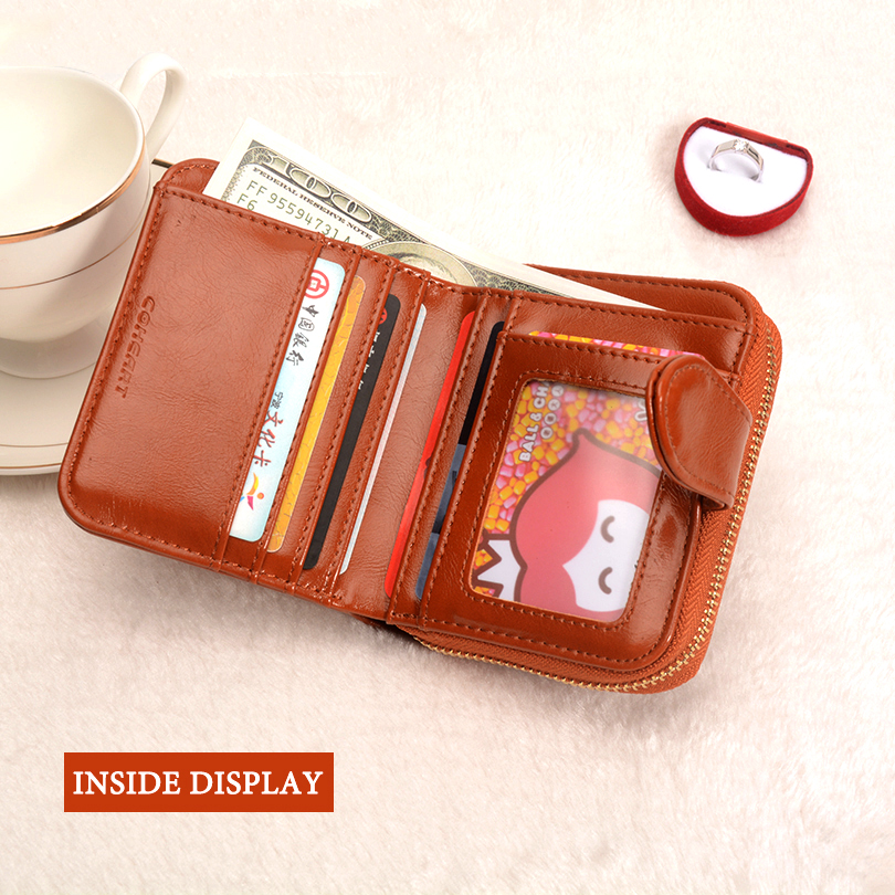 COHEART Wallet Women Fashion Purse Female Wallet leather pu multifunction purse small money bag coin pocket Wallet Top Quality ! 4