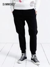 SIMWOOD สบายๆผู้ชาย 2019 ใหม่ Jogger กางเกงกางเกงผู้ชายหนาแฟชั่นหลวม Hip Hop Streetwear จัดส่งฟรี 190086