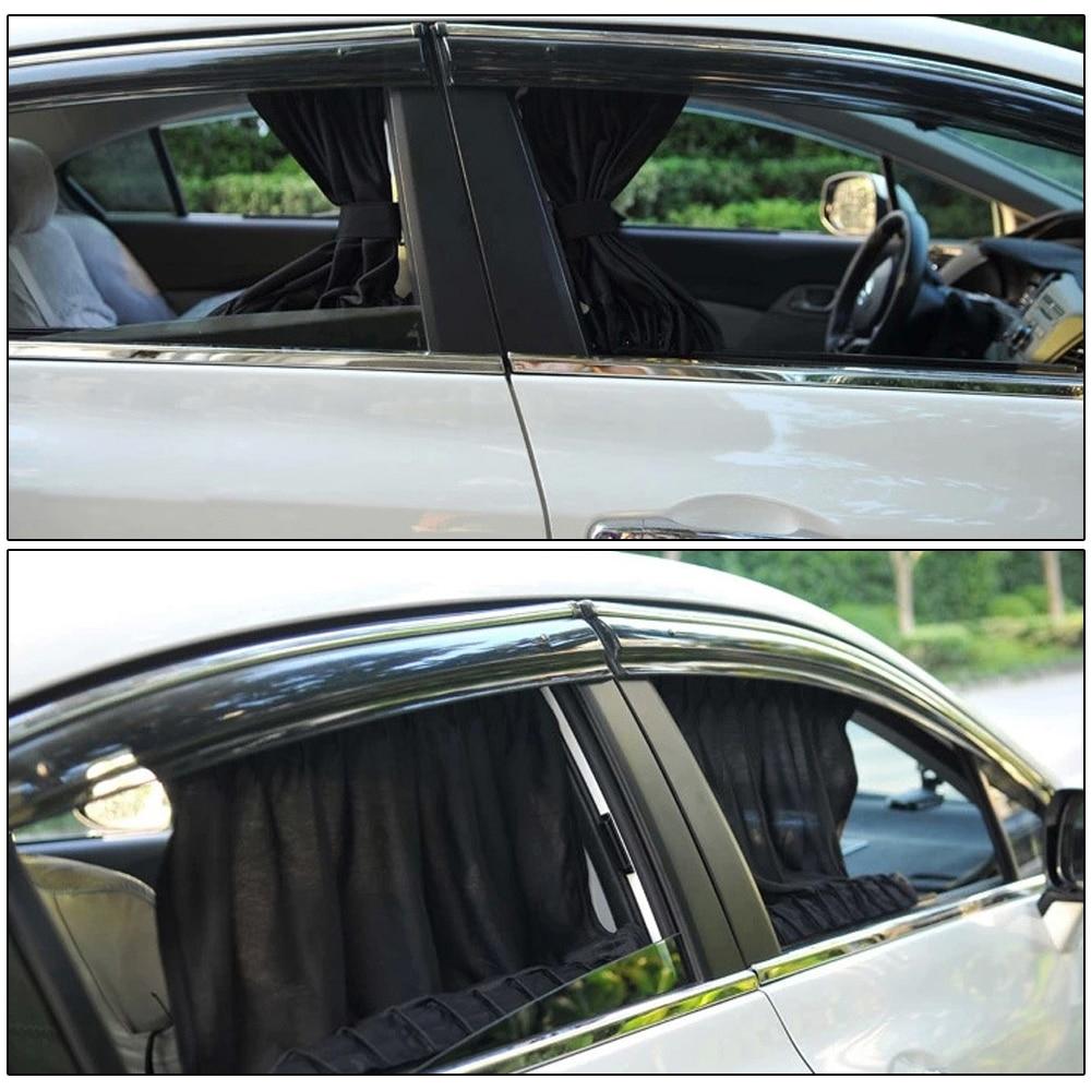 70L 70*50cm Car Window Curtain Car Window Cover Sunshade Curtain Sunscreen Side Windshield Curtain Black Cloth Fabric Universal занавеска window curtain window curtain 024