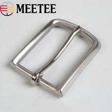 1PC Fashion Solid Stainless Steel Belt Buckles Metal Pin Head for Mens Jeans 33-35mm Wide DIY Leather Craft