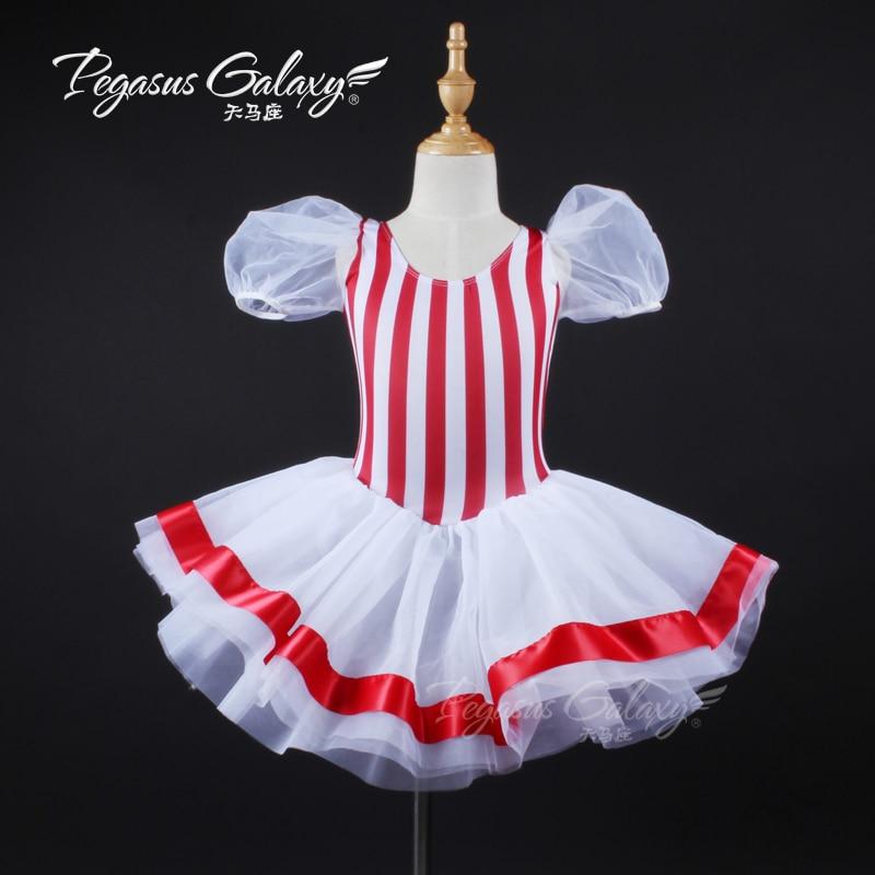 2018 New Child Professional Ballet Tutu Girls Professional Tutu Sale Nice Performance Dance Costumes Ballet Costume Tutu B 6319
