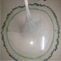 D450cm Korea style cast net round fishing net fish trap fishing network potes rede de pesca fishing net china hand throw net