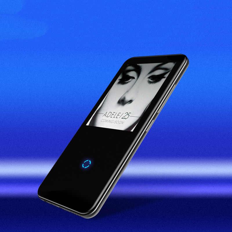 Mahdi M600 odtwarzacz MP3 bluetooth HiFi 2.4 Cal odtwarzacz wideo bezprzewodowy przenośny Sport MP3 8GB wbudowany głośnik radio fm