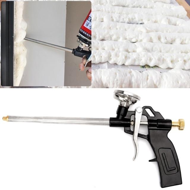 US $8 93 21% OFF|Aliexpress com : Buy Manual PU Spray Foam Gun Heavy Duty  Good Insulation DIY Professional Applicator from Reliable Spray Guns