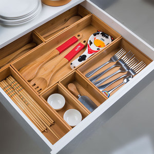 DIY Bamboo Kitchenware Storage