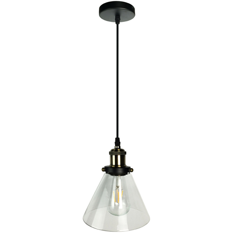 New American Country Retro Vintage Glass Lampshade Pendant Light E27 Glass  Pendant Lamp for Restaurant Coffee bar Clothes shop loft american edison vintage industry crystal glass box wall lamp cafe bar coffee shop hall store club