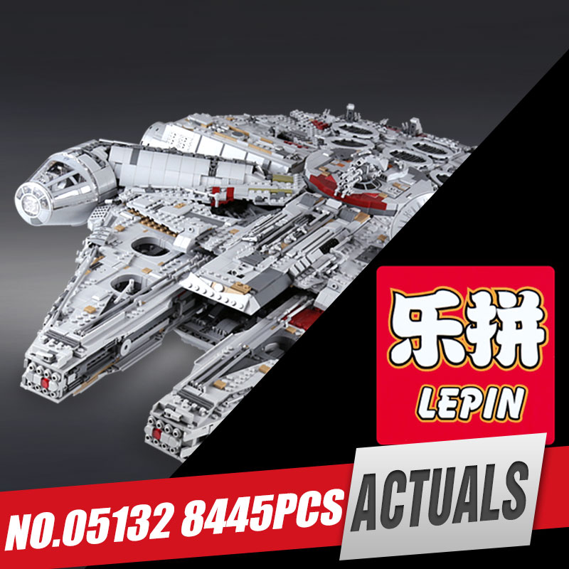 LEPIN 05132 New 8445Pcs Star Series Wars Ultimate Collector's Model Destroyer Building Blocks Bricks Children Toys with 75192 new 5265pcs star wars ultimate collector s millennium falcon model building kits blocks bricks kids toys compatible with 10179