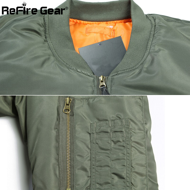 MA1 Aviator Tactical Bomber Jacket