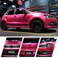 Автомобиль Средства ухода за кожей Обёрточная бумага Наклейки Carbins матовый хром Плёнки пурпурный Цвет