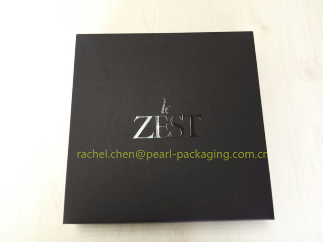 High Quality Luxury Customized Scarf Cardboard Packaging