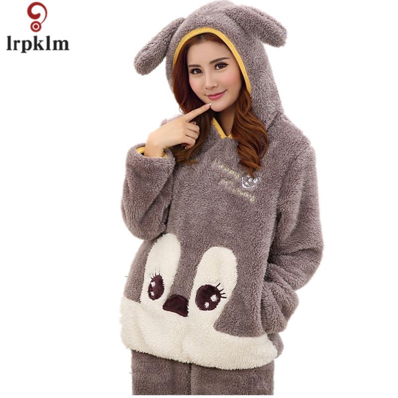 Pijama con capucha ropa de dormir de las mujeres kigurumi
