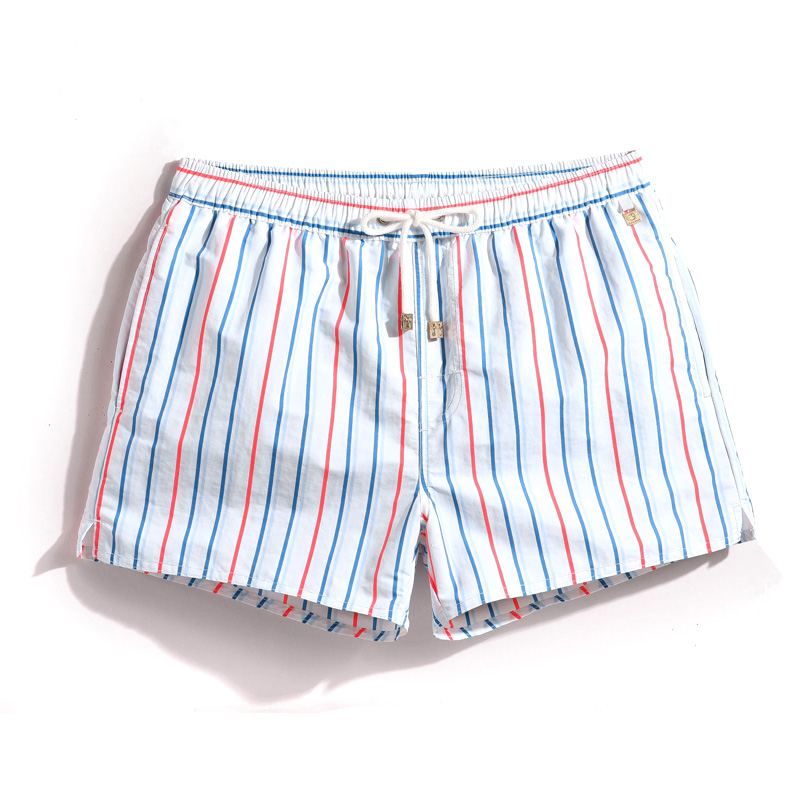 New Style S18 Men Stripe Shorts Summer Beach Shorts Board Shorts Plus Szie S-XXXL