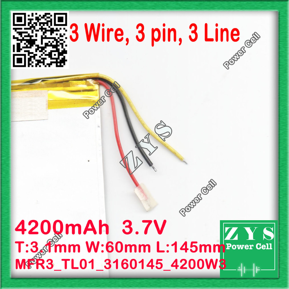3 wire new 4200mah li ion tablet pc battery for 789 inch tablet pc 3 wire new 4200mah li ion tablet pc battery for 789 inch tablet pc icoo 37v polymer lithiumion battery with high quality in tablet batteries backup greentooth Image collections