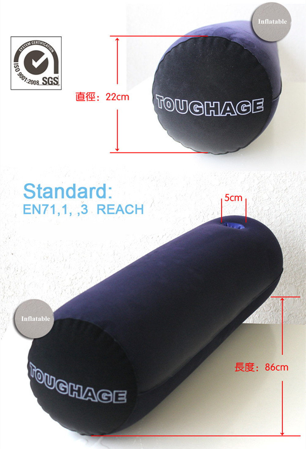 Female Sex Pillow with Socket Erotic Accessories Adult Games Bolster Position Air Cushion Furniture Sex Toys for Women Couple (10)