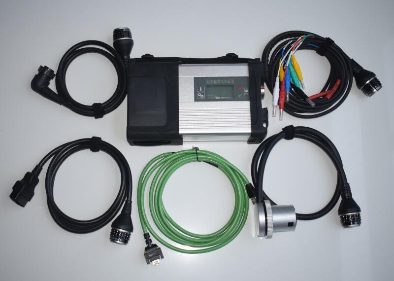 MB Star C5 sd connector met d630 PC SSD installeren nieuwste software klaar om multi taal wifi MB C5 auto diagnostic tool - 2