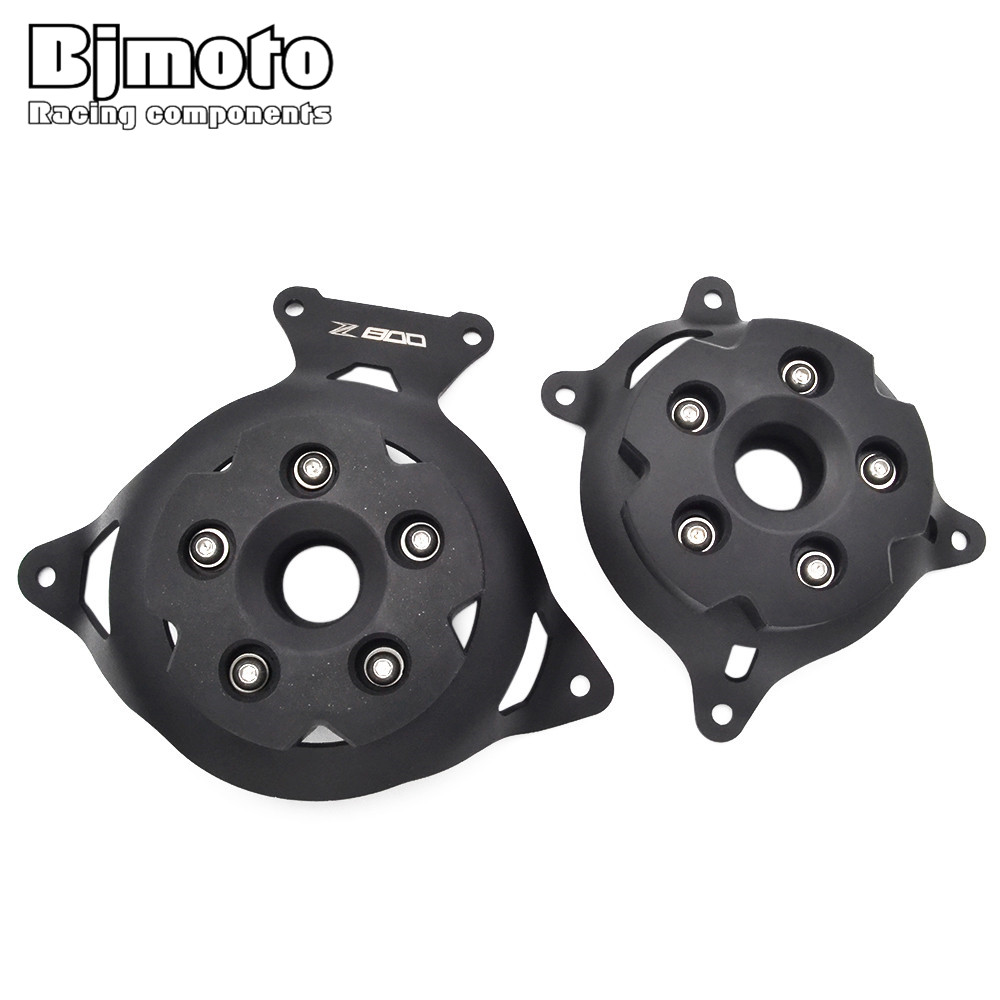 For Kawasaki Z 800 Z800 2013-2016 Motorbike Engine Stator Cover Protector Engine Protective Case With Z800 Logo brand new motorbike accessories engine stator cover black motorbike engine stator cover for honda cbr600 f4 f4i for all year