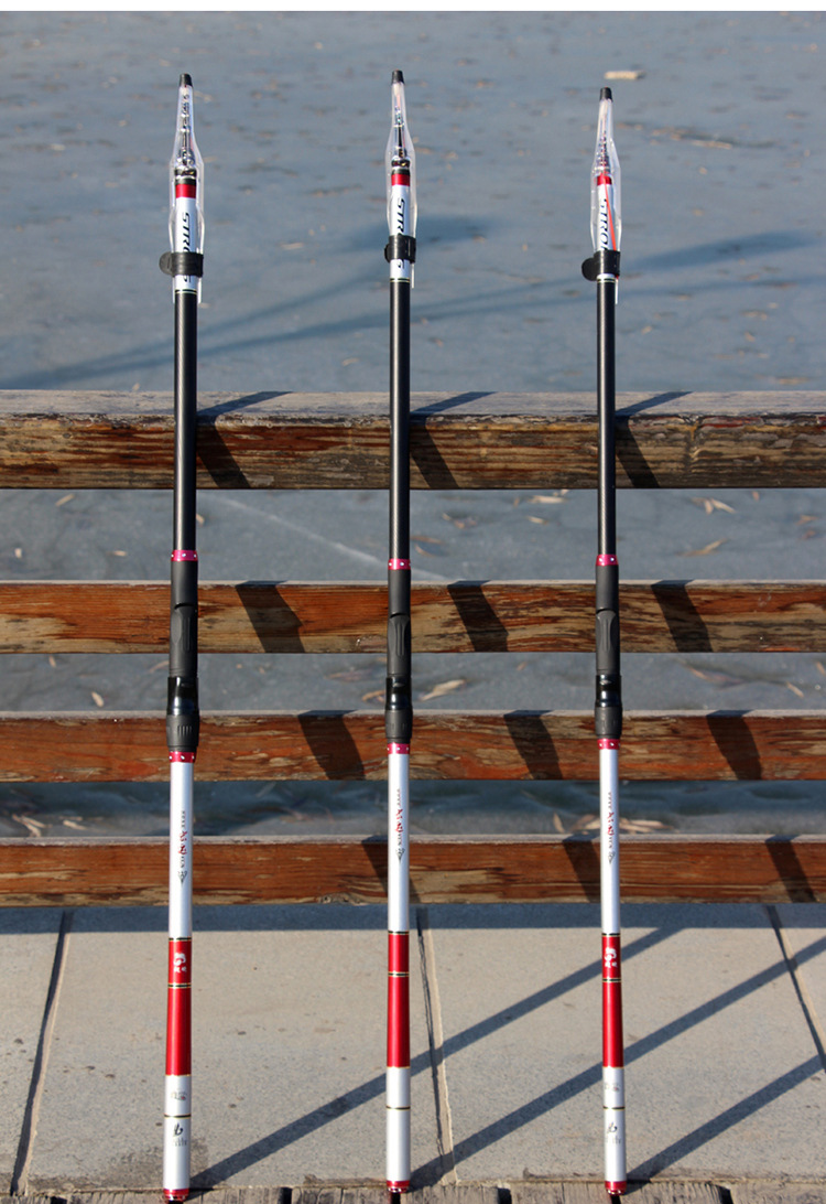 3 6M 4 5M 5 4M Rock Fishing Rod High Carbon Fiber Super hard 4 6 sections Telescopic Fishing Rod Fly Fishing Carp fishing B264 in Fishing Rods from Sports Entertainment