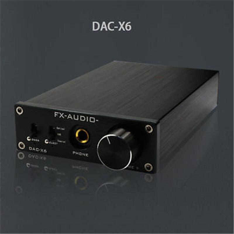 FX Audio Feixiang DAC X6 HiFi amp Optical Coaxial USB DAC Mini Home font b Digital
