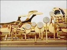 L&K Gold Plated Alto Saxophone Brand France Henri802 sax E Flat musical instruments professional E flat sax alto saxophone