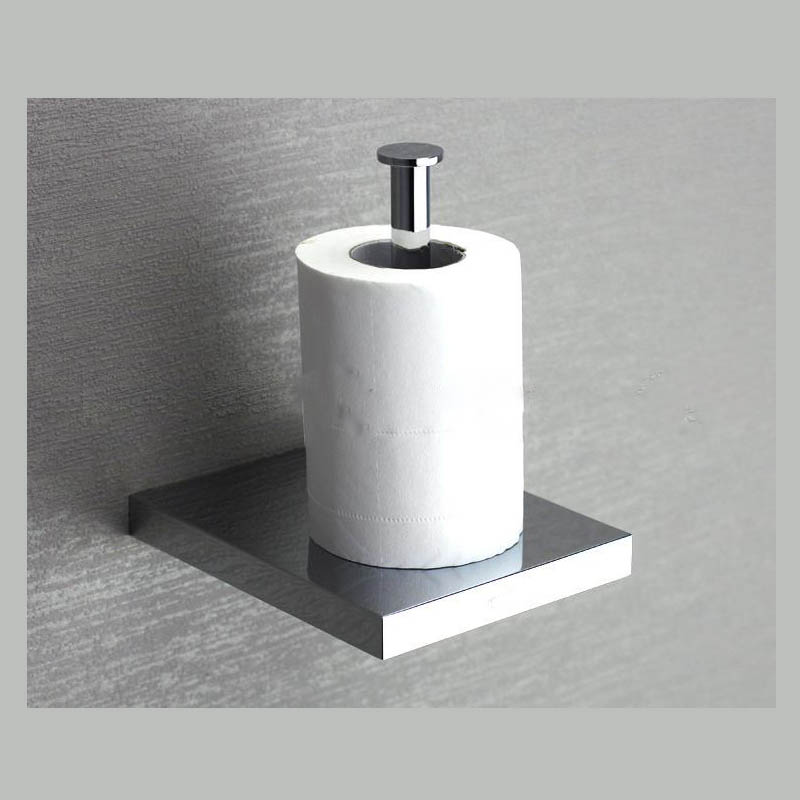 ФОТО Copper Toilet Paper Holder  Bathroom Paper Roller Wall Mounted Chrome