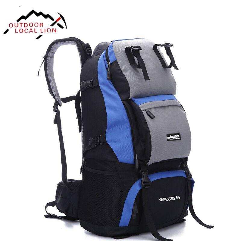 LOCAL LION Climbing Backpack Rucksacks Waterproof Mountain Climbing Backpack Outdoor Sports Bag Mountain backpacks Women 40L 40l waterproof