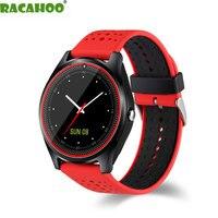 RACAHOO Reloj Inteligente Mini Tarjeta SIM 2G Bluetooth Podómetro Dormir Monitor de Salud Deporte MP3 Music Clock Reloj Inteligente Para Android IOS