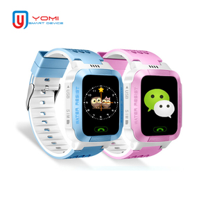 Smart Watch Kids Android Real-time GPRS Tracker Remote Monitor Smartwatch with Camera Flashlight Anti-lost Baby Phone Clock