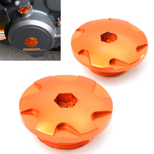 for KTM Duke 390 Duke 200 2011 2012 2013 2014 2015 2016 2piece Motorcycle Accessories CNC Aluminium Engine Igntion Cover Plug цены