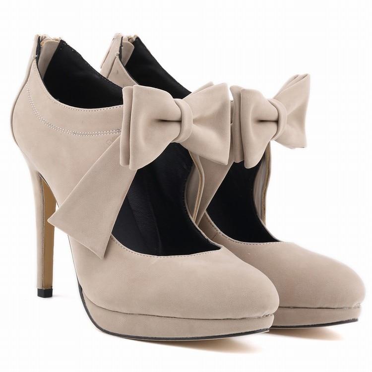 CUTE GIRLS SHOES PLATFORM HIGH HEELS LADIES WOMEN PUMPS WEDDING DRESS WOMEN  SHOES US Size 4-11 8b17f56442