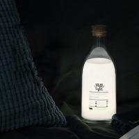 Cute Baby Pillow Bedroom Night Light LED Milk Bottle Night Light Stretch Switch Baby Lactation Nightlights Children Bedside lamp