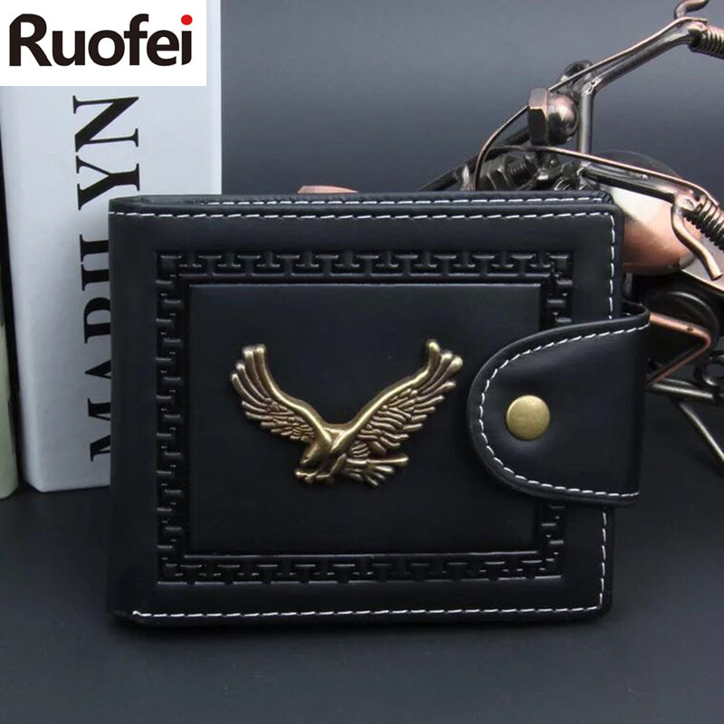 New fashion Men Leather Brand Luxury Wallet fashion Minimalist Short Slim Male Purses Money Clip Credit Card Dollar Price Portom