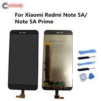 Xiaomi Redmi için Not 5A 5 Bir Başbakan lcd ekran + Dokunmatik Ekran Değiştirme Digitizer Meclisi Xiaomi Redmi Için Note5A Başbakan ekran