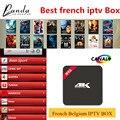 Android TV Box iptv H96 S905 Libre de 1 Año 900 + Canales IPTV francés Francés QHDTV/Neotv reproductor multimedia Android 5.1 Smart tv caja