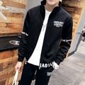 М-3XL zip hoodie мужчины осенние новые случайные бренд спортивный костюм мужчины с длинным рукавом survetement homme одежда H837