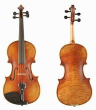 Antonio Stradivari Cremonese 1716 Model violin FPVN01 with Canvas case and brazil bow
