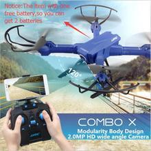 1 pcs livre H38-WH exttra bateria Mais Novo RC Quadcopter FPV Wi-fi de 2MP ampla Ângulo Da Câmera Altitude hold Modo Headless RC drone vs h26