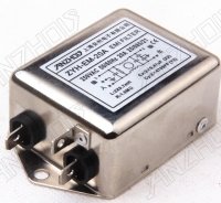 ZYH EM 20A 20A 250V EMI power filter Connector|power tiller|power entertainment|filter power supply -