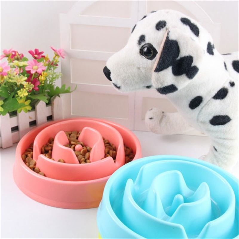 New Arrival Pet Fun Feeder Pet Dog Cat Food Slow Feeder Puppy Anti Choke Bowl Feeders for Pet Products