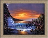 Derk Hansen Hoàng Hôn Shores HD In Dầu Tranh Tường vẽ tranh Tường Art Ảnh Đối Với Living Room tranh không có khung