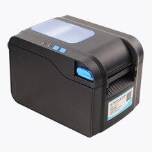 80mm directement code à barres thermique imprimante d'étiquettes autocollant machine d'impression usb interface date support plus langue
