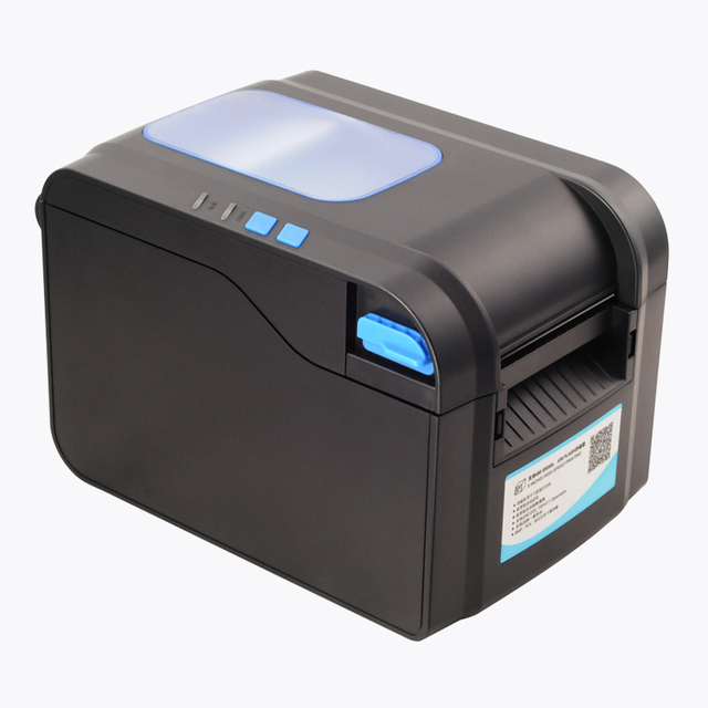 80mm directly thermal barcode label printer sticker printing machine usb  interface newest support more language 09486b55b
