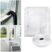 Universal Air Lock Window Seal Cloth For Mobile Air Conditioners Water Repellent Tumble Dryer Home